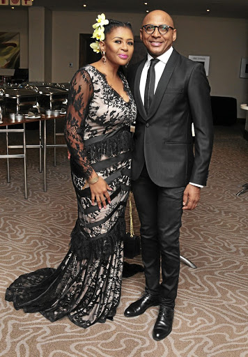 Celebrity couple Basetsana and Romeo Kumalo.