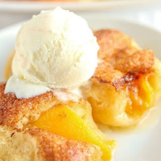 4 Ingredient Peach Dumplings.