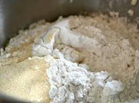 In a large bowl, add 1 3/4 c of flour, sugar, yeast and salt....