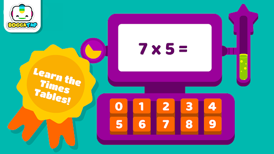 Bogga Times Tables - for kids- screenshot thumbnail
