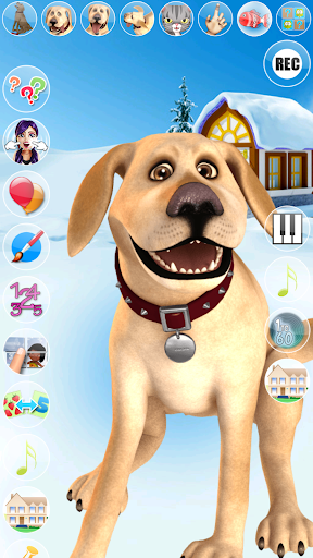 Talking John Dog Frozen City screenshots 2
