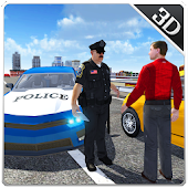 Police Border Adventure Sim