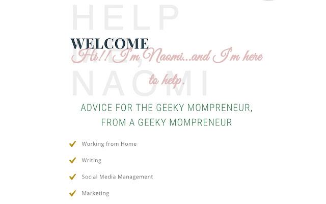 Help Me, Naomi - WAHM Blog