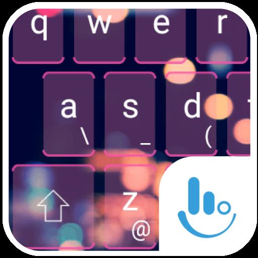 TouchPal City Light Theme 個人化 LOGO-玩APPs