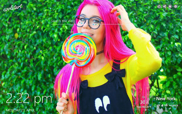 Jessie Paege HD Wallpapers Social New Tab