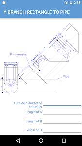Pipe cutting calculator v1.22