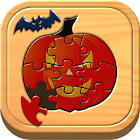 Kids Halloween Puzzle Games icon