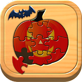 Kids Halloween Puzzle Games