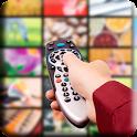 TV decoder remote controller icon