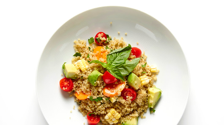 Veggie and Herb Quinoa Salad Recipe | Yummly