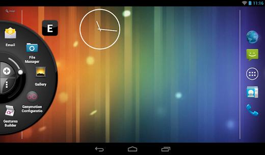 Wheel Launcher a free customizable edge screen 9