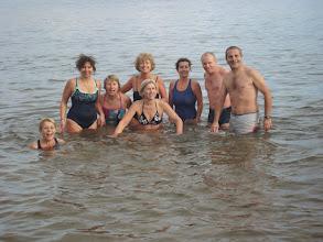 Photo: Et voila le groupe RCA réuni pour la photo souvenir ! Apparemment l'eau était à 8°.