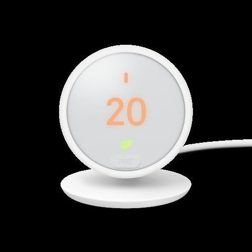 Einige Schlüsselfunktionen des Google Nest ThermostatE für Europa tragen zu einer besseren Umweltverträglichkeit bei.