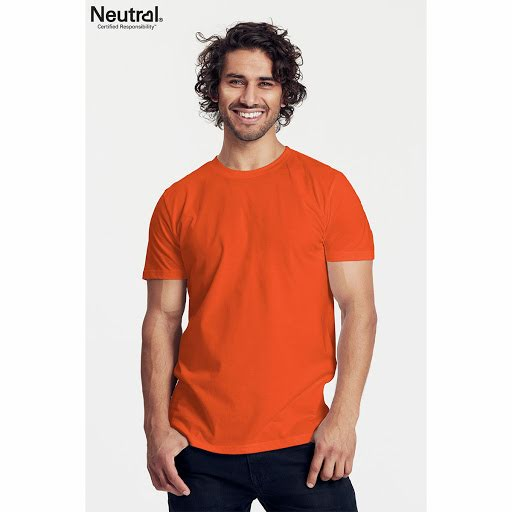 Neutral Men's Fitted White T-Shirt