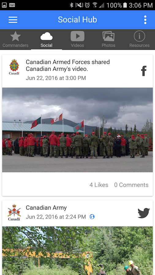 Canadian Armed Forces- screenshot
