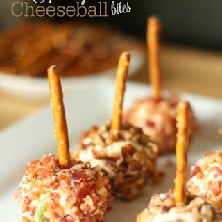 Holiday Cheeseball Bites