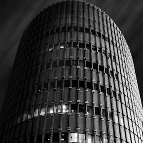 Beauty In Shapes by Brad Kalpin - Black & White Buildings & Architecture ( black and white, fine art, architecture )