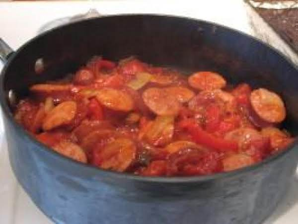Hot Sausage Appetizer In Savory Sauce Recipe