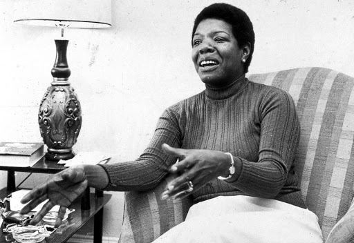 When this picture was taken in April 1978, author and activist Maya Angelou had been married to Paul du Feu, her second white husband, for five years.