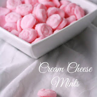 Cream Cheese Mints.