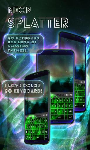 玩個人化App|霓虹飛濺免費鍵盤免費|APP試玩