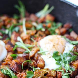 Kimchi Potato Hash