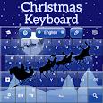 Christmas Keyboard Santa Theme icon