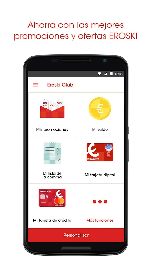 EROSKI - La APP de Eroski Club- screenshot
