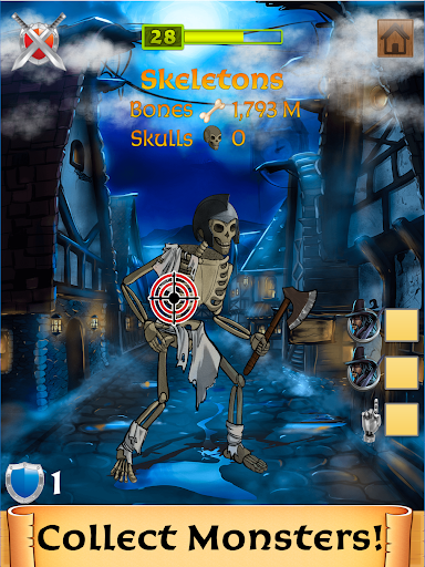 Monster Clicker: Idle Adventure | Halloween Games 4.6.504 screenshots 2