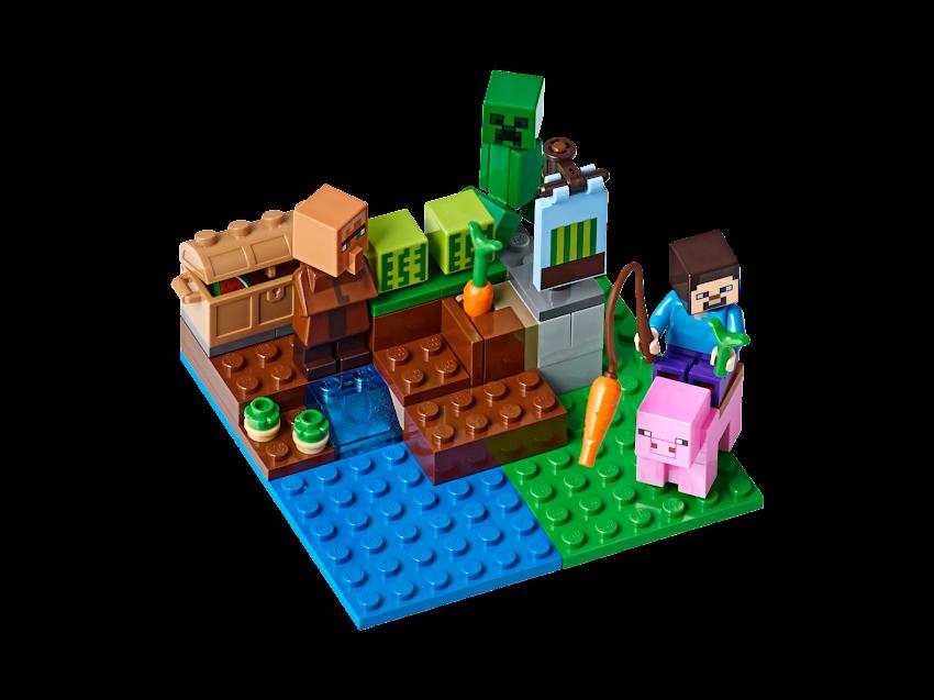 Contenido de Lego® 21138 La Granja de Melones
