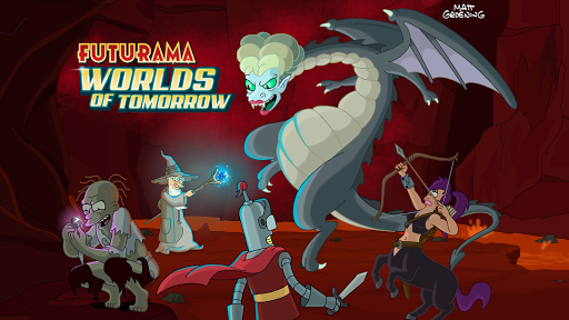 Futurama: Worlds of Tomorrow  screenshots 1