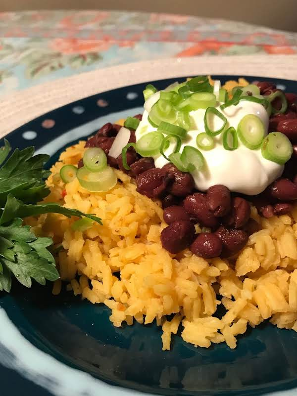 Black Beans & Yellow Rice (quick Version)
