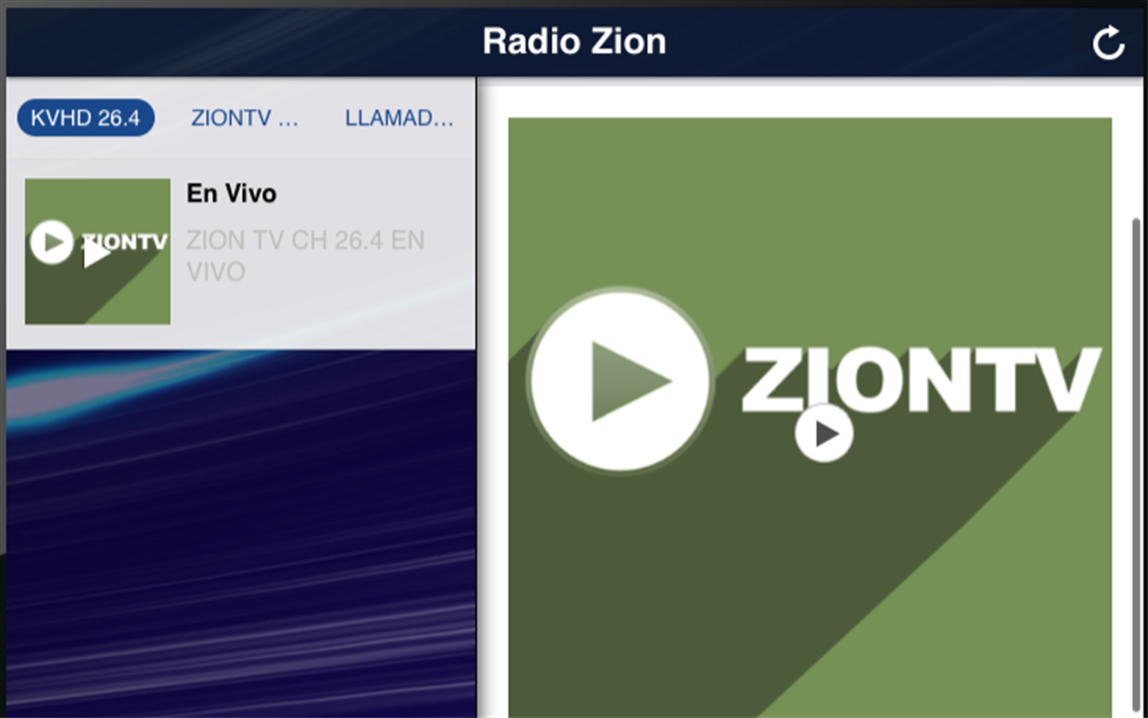 Radio Zion- screenshot