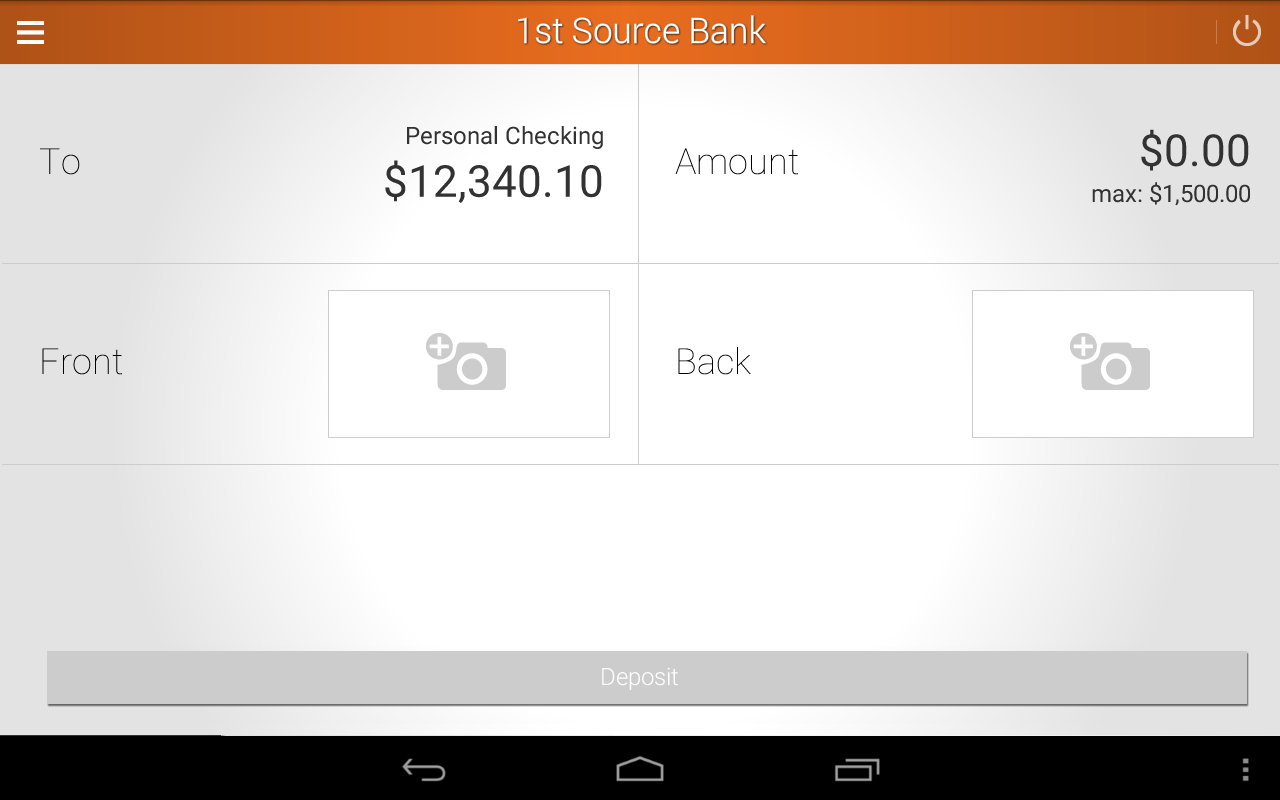 1st Source Bank Mobile- screenshot