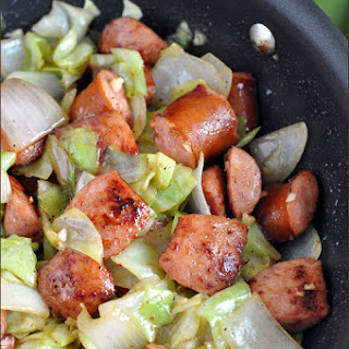 Kielbasa and Cabbage Skillet.