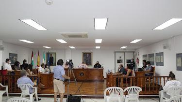 Pleno del Ayuntamiento de Pulpí, celebrado el pasado día 17 de septiembre.