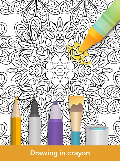 100+ Mandala coloring pages  screenshots 11