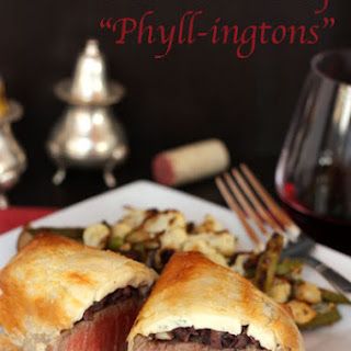 "Individual Beef ""Phyllingtons"""