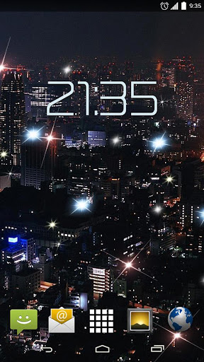 Night City Lights 4K Live