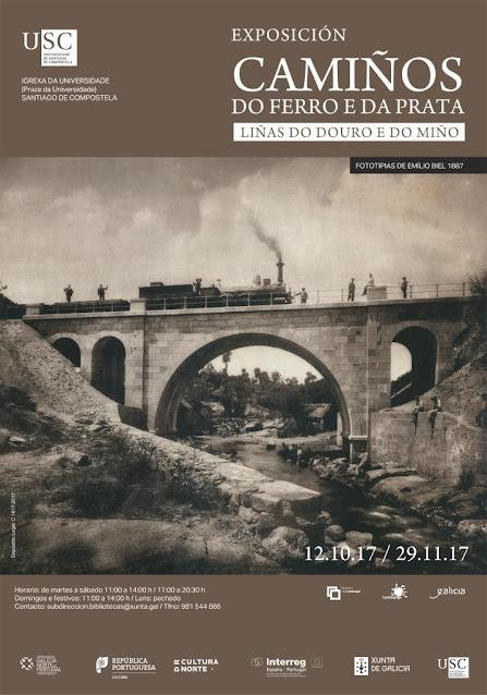 """""""Caminhos do Ferro e da Prata"""" em Santiago de Compostela"""