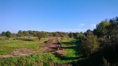 Photo: a w Brzegu motocrossowcy :)