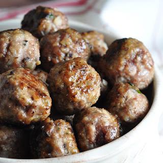 Classic Meatballs.