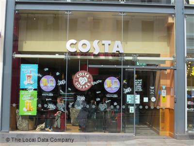 Costa On Bold Street Coffee Shops In Liverpool Chinatown