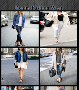 Denim Fashion Wear - náhled