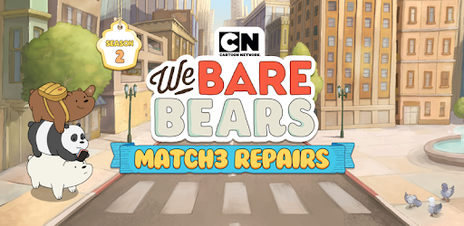 We Bare Bears Match3 Repairs Mod Apk updated