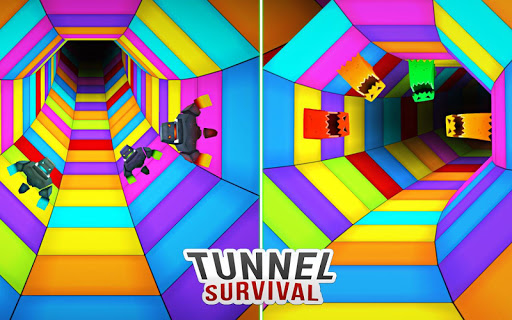 TWISTY ROAD SURVIVAL: AMAZING COLOUR WEB TUNNEL  screenshots 8