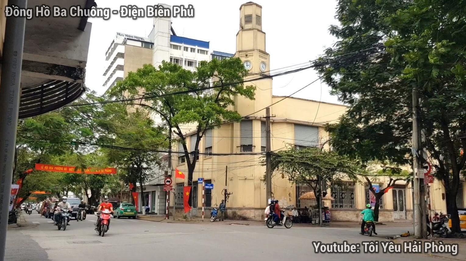 Đường Điện Biên Phủ ở Hải Phòng ngày kỷ niệm 65 năm 3