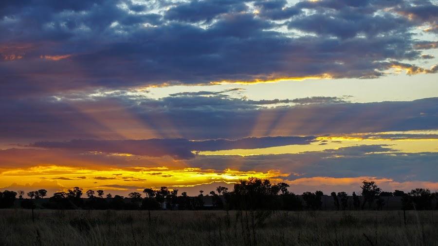 Somewhere in NSW  Australia by Pravin Chaurasiya - Landscapes Cloud Formations