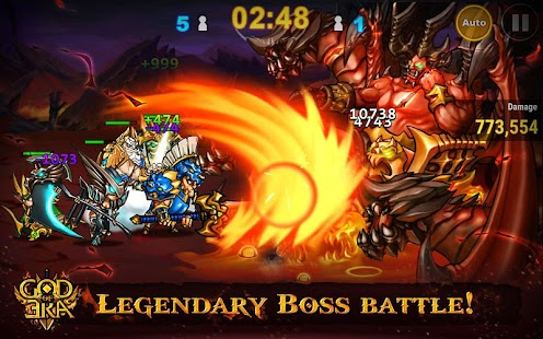 God of Era: Epic Heroes War (GoE) (Unreleased)- screenshot thumbnail