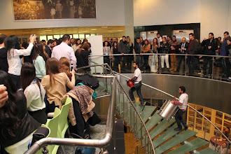 Photo: Yeditepe Üniversitesi öğrencilerinden kuruluYeditepe Rhythm Factory gelen katılımcılara muhteşem bir karşılama gösterisi sundu. www.gelecekgunu.org